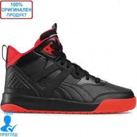 Puma Backcourt Mid - обувки - черно - червено
