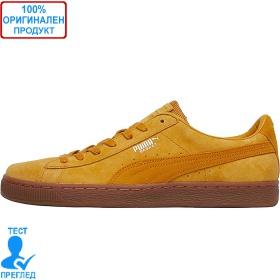 Puma Basket Classic - спортни обувки - цвят горчица