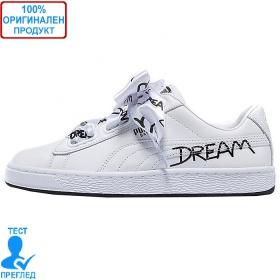 Puma Basket Heart - спорни обувки - бяло