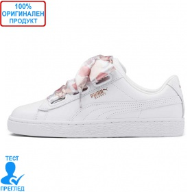 Puma Basket Heart Hexagon - спортни обувки - бяло