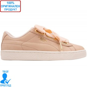 Puma Basket Heart Soft Pink - спортни обувки