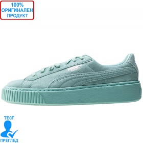 Puma Basket Platform Reset Mint - спортни обувки