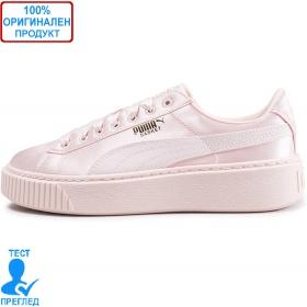 Puma Basket Platform Tween Pearl - спортни обувки