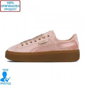 Puma Basket Platform VS Silver Pink - спортни обувки