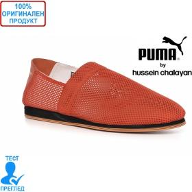 Puma by Hussein Chalayan - дизайнерски мъжки обувки - червено