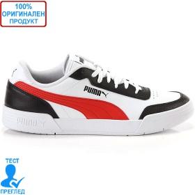 Puma Caracal - спортни обувки - бяло - черно - червено