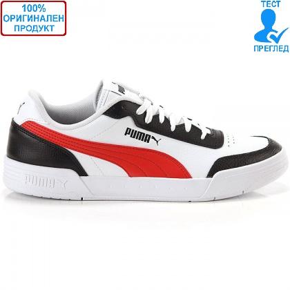 ОБУВКИ - Puma Caracal - спортни обувки - бяло - черно - червено