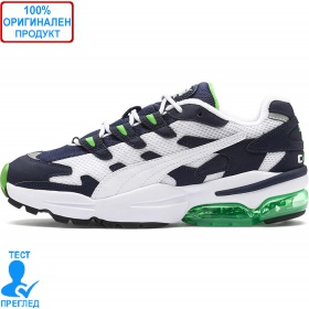 Puma Cell Alien - маратонки - бяло - синьо - зелено