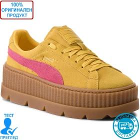 Puma Creeper Suede Yellow - спортни обувки