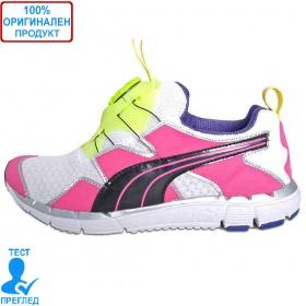 Puma Disc 2.0 - спортни обувки - розово - жълто - бяло