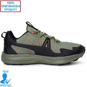 Puma Escalate - маратонки - маслено зелено