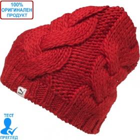 Puma Heavy Knit Beanie - мъжка шапка - червено