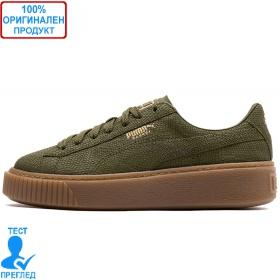 Puma Platform Euphoria Olive Night Gum - спортни обувки