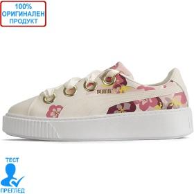 Puma Platform Kiss Careaux - спортни обувки - бежово