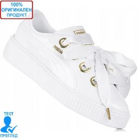 Puma Platform Kiss Patent - спортни обувки - бяло