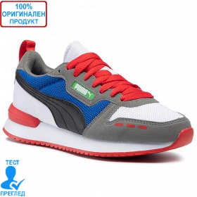 Puma R78 - спортни обувки - сиво - черно - синьо
