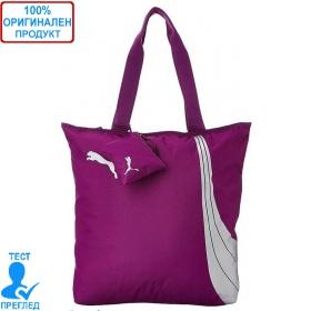 Puma Shopper - дамска чанта - лилаво, Dreshnik.com