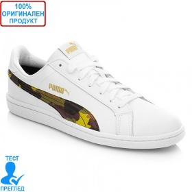 Puma Smash Camo - спортни обувки - бяло