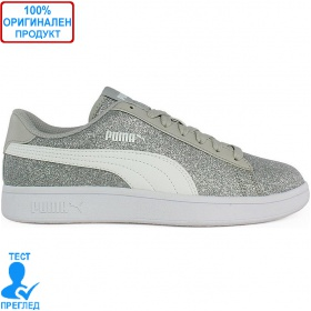 Puma Smash Glitz - спортни обувки - сиво, Dreshnik.com