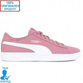 Puma Smash V2 Buck - спортни обувки - розово - бяло
