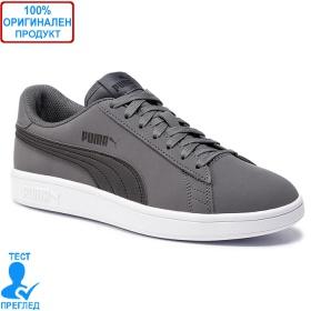 Puma Smash V2 Buck - спортни обувки - сиво