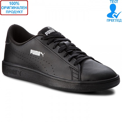 ОБУВКИ - Puma Smash V2 L Perf - спортни обувки - черно - черно