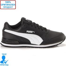 Puma ST Runner V2 - спортни обувки - черно - бяло