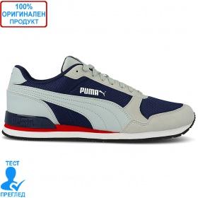 Puma ST Runner V2 Mesh - маратонки - сиво - синьо