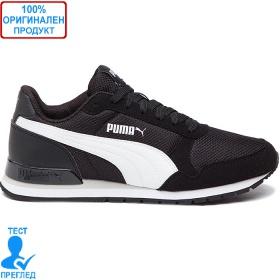 Puma ST Runner V2 Mesh - черно - бяло, Dreshnik.com
