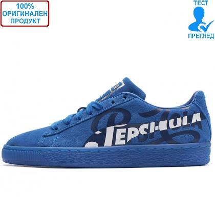 ОБУВКИ - Puma Suede Classic X Pepsi Blue - спортни обувки