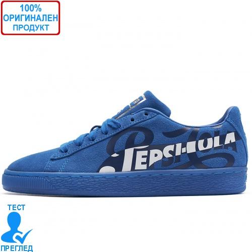 Puma Suede Classic X Pepsi Blue - спортни обувки