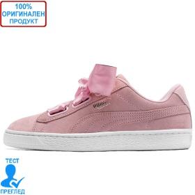 Puma Suede Heart Galaxy Pink - спортни обувки