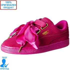 Puma Suede Hearts Satin - спортни обувки - розово