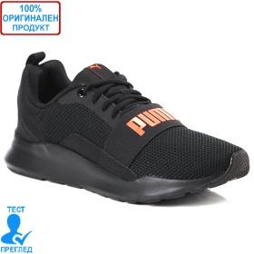 Puma Wired E - маратонки - черно - червено