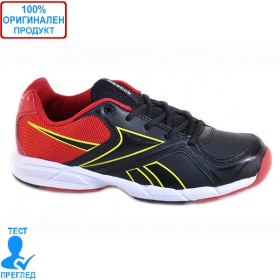 REEBOK ALMOTIO - маратонки - черно - червено