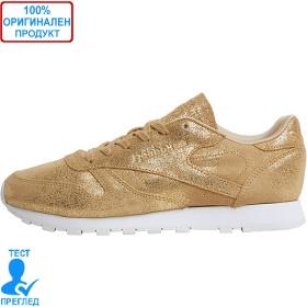 Reebok CL Leather - спортни обувки - златисто