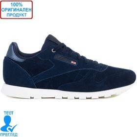 Reebok CL Leather Blue - спортни обувки