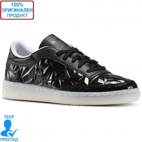 Reebok Classic Club C85 - дамски спортни обувки - черно, Dreshnik.com