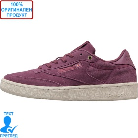 Reebok Classic Club C85 - спортни обувки - лилаво