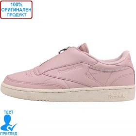 Reebok Classic Club C85 - спортни обувки - розово - бяло