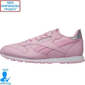 Reebok Classic Leather - спортни обувки - розово - бяло