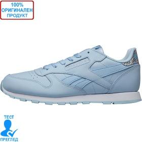 Reebok Classic Leather - спортни обувки - синьо - бяло, Dreshnik.com