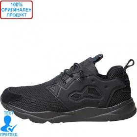 Reebok FuryLite - мъжки спортни обувки - черно - черно