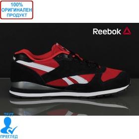 Reebok GL - спортни обувки - черно- червено