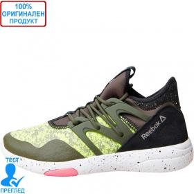 Reebok Hayasu - спортни обувки - зелено - бяло - черно