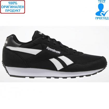 ОБУВКИ - Reebok Rewind Run - спортни обувки - черно - бяло