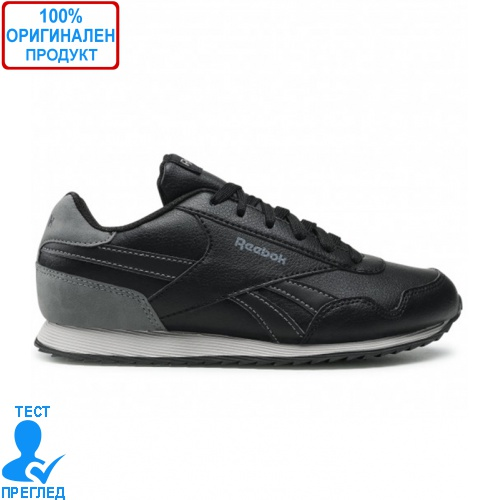 Reebok Royal CLJOG 3.0 Black Grey - спортни обувки