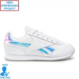 Reebok Royal CLJOG 3.0 White Turquoise - спортни обувки