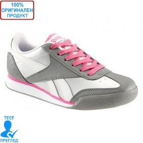 Reebok SHOPORAMA - детски маратонки - сиво - розово