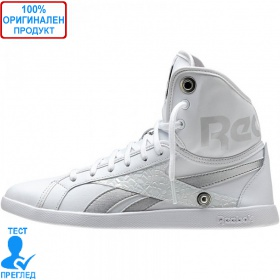 REEBOK Top Down - дамски кецове - бяло